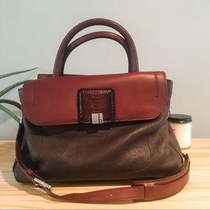 Botkier Genuine Leather Maroon Handbag